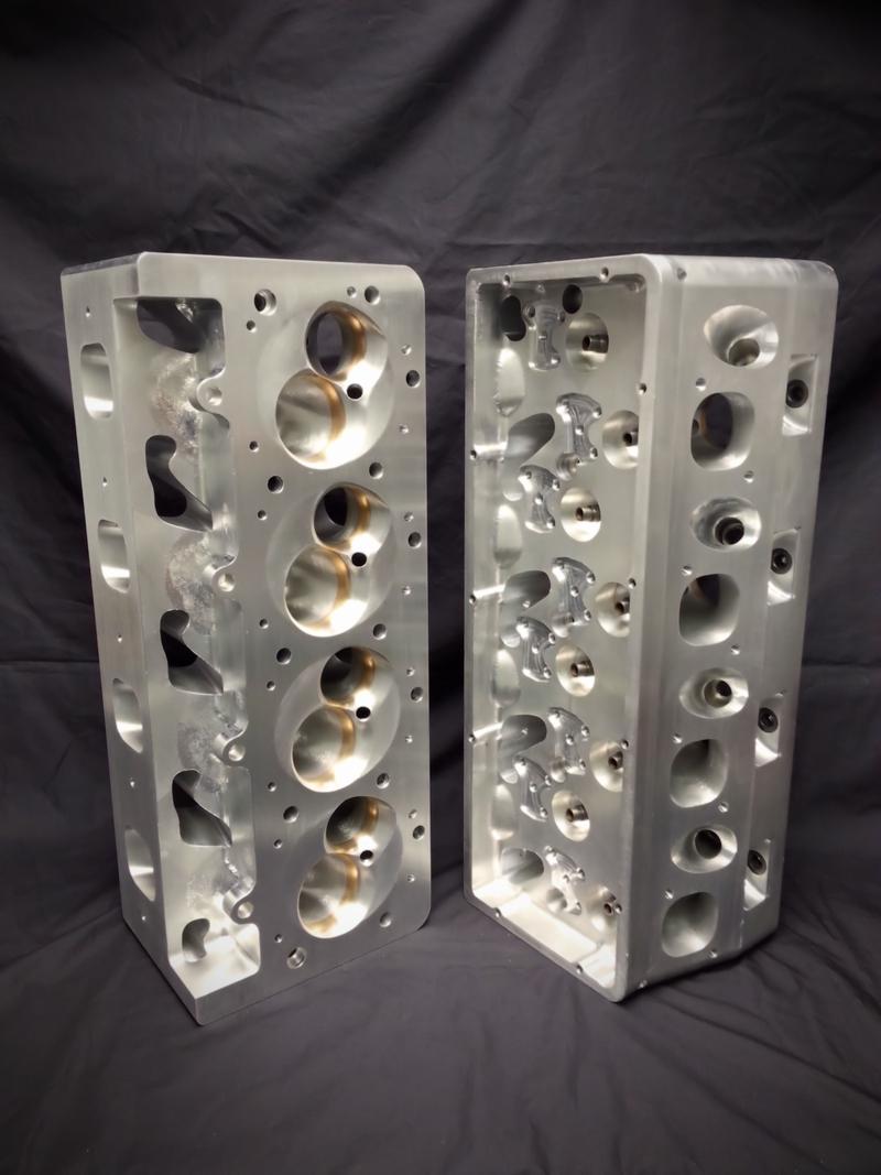 Billet Cylinder Heads : Gm wedge