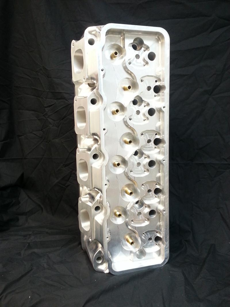 Billet Cylinder Heads : Ford wedge