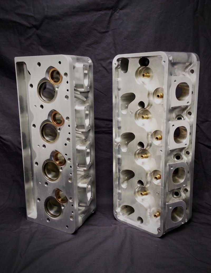 Billet Cylinder Heads : Chevrolet small block quot