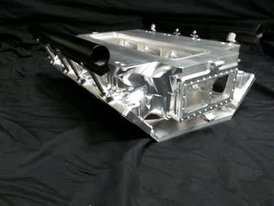 Chrys Hemi EFI blower manifold tall deck