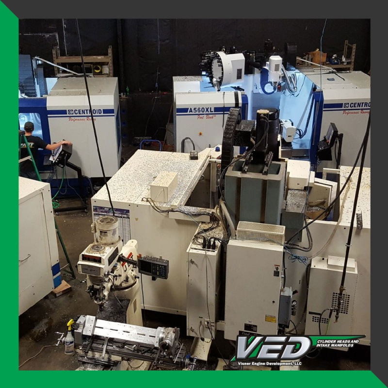 Machining Equipment at VED